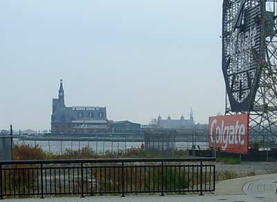 Train Terminal, Ellis Island and the Statue of Liberty