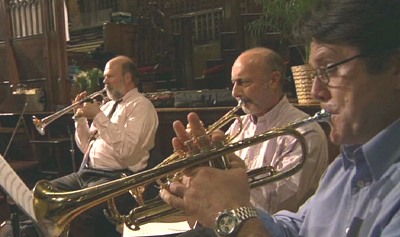 Broadway Bach trumpet section
