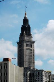 Terminal Tower scaffolding