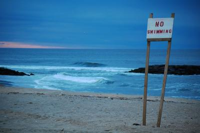 No Swimming!
