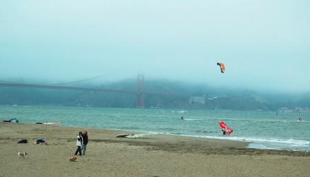 Towards the Golden Gate