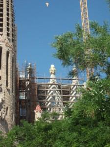 sagrada construction