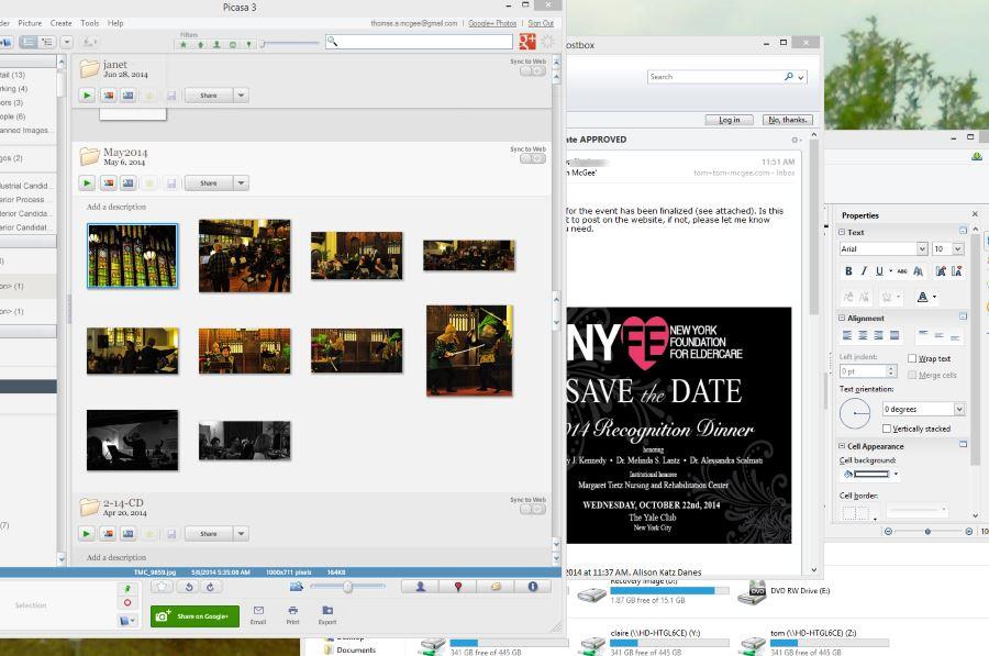 Desktop screen cap