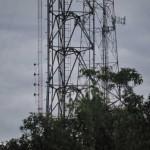 Antennas on Mount Beacon