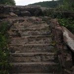 Staircase by the old casino site, Mount Beacon