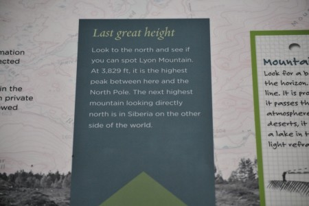 Explaining the mountain you're seeing -- it's many thousands of miles before another one that height appears.