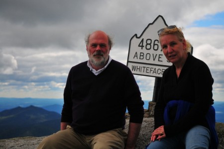 """Up in the """"Alpine Zone,"""" above the treeline. It's very rare; there are something like 85 acres in all of New York state of alpine zone land."""