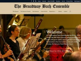 broadwaybach.org home page