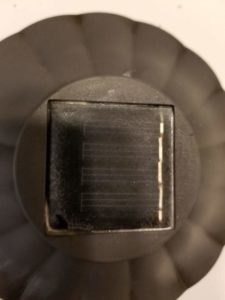 Image of cleaned up solar sensor.