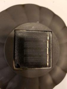Image of cleaned up solar sensor.
