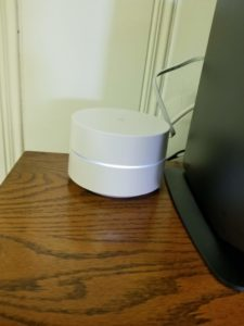Picture of hockey puck WiFi device