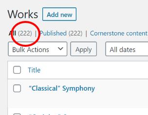 222 Works